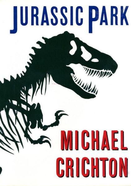 Jurassic Park book cover