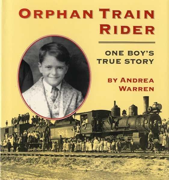 Orphan Train Rider book cover
