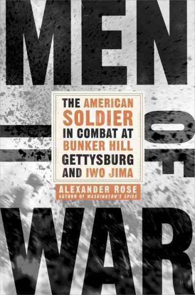 Men of War by Alexander Rose