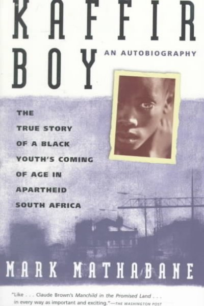 Kaffir Boy book cover