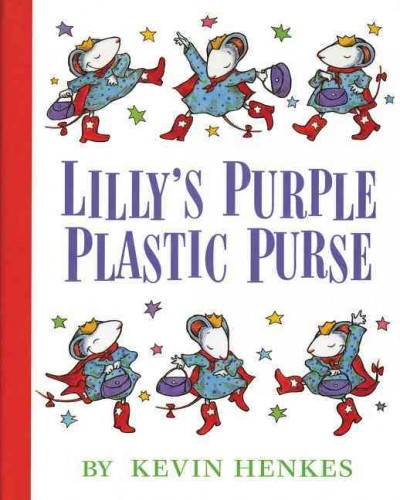 Lilly's Purple Plastic Purse book cover