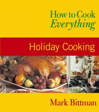 Holiday Cooking book cover