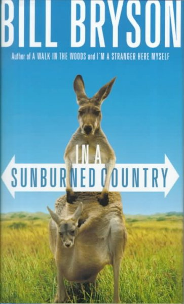 book cover image In A Sunburned Country by Bill Bryson