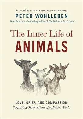 The Inner Life of Animals book cover