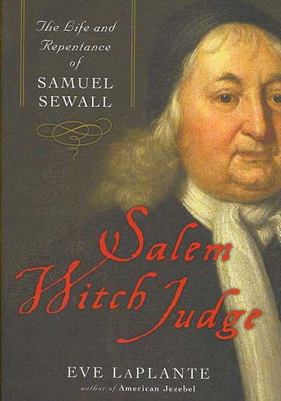 Salem Witch Judge book cover