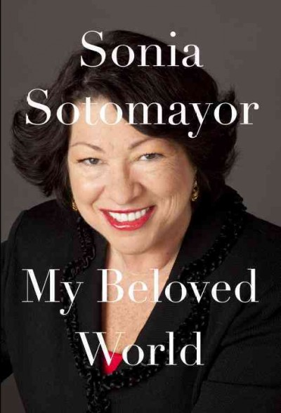 Image of Sonia Sotomayor-book cover