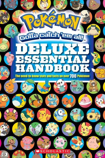 Pokemon Deluxe Essential Handbook book cover