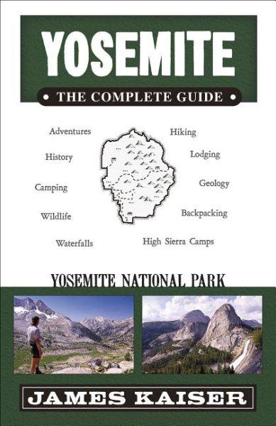 Yosemite book cover