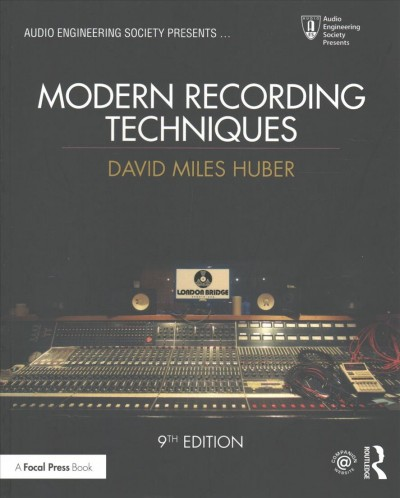 Image of book cover: Modern Recording Techniques
