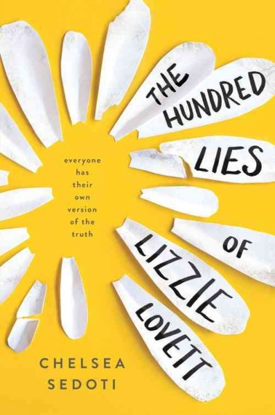 The Hundred Lies of Lizzie Lovett book cover