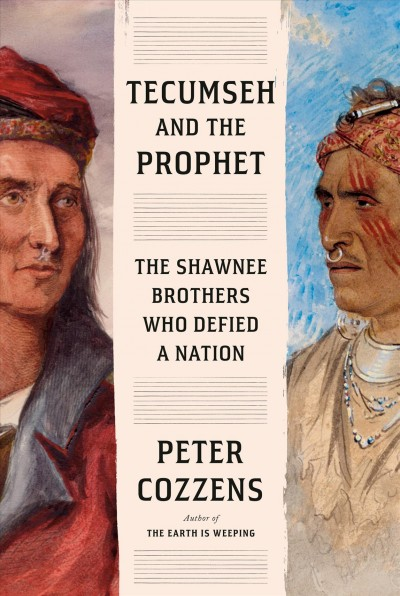 Painted portraits of Tecumseha and his brother Tenskawatawa--book cover image