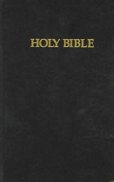 Cover of a King James version of The Bible - Banned Books