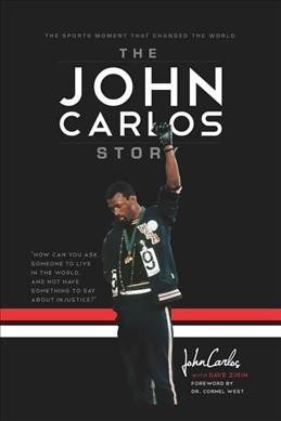The John Carlos Story book cover