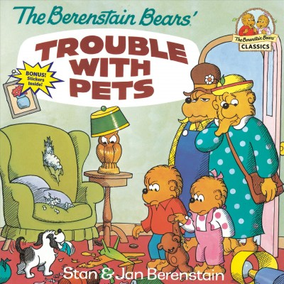 Book_Cover-Berenstain_Bears_Trouble_with_Pets