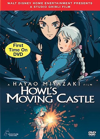 """Cover image for """"Howl's Moving Castle"""" YA DVD"""
