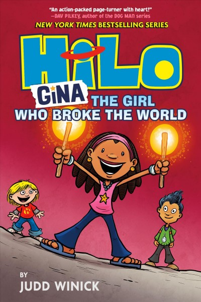 Hilo: Gina the Girl Who Broke the World