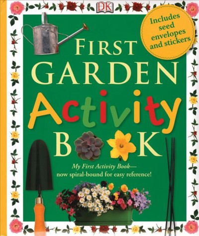 First Garden Activities book cover