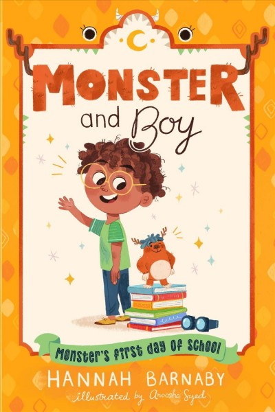 Monster and Boy: Monster's First Day of School