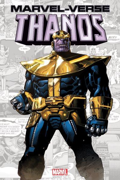 Marvel-verse. Thanos