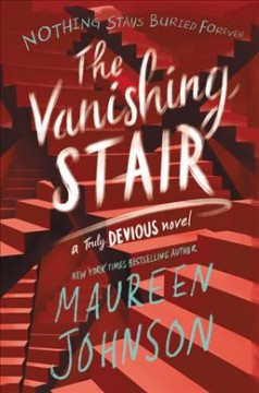 "Book Cover ""The Vanishing Stair"" by Maureen Johnson"