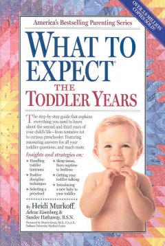 cover to What to Expect the Toddler Years