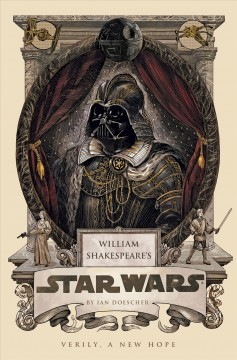 cover of shakespeares star wars with darth vader