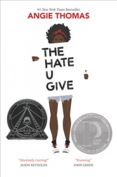 """Cover of the novel """"The Hate U Give"""" by Angie Thomas"""