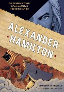 Alexander hamilton graphic history book cover