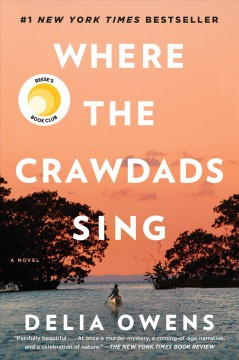 """Cover of """"Where the Crawdads Sing"""" by Delila Owens"""