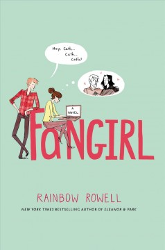 """Book Cover """"Fangirl"""" by Rainbow Rowell"""