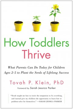 cover to How Toddlers Thrive