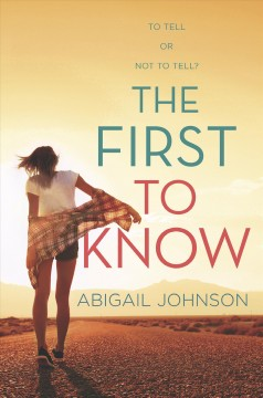 The First To Know book cover